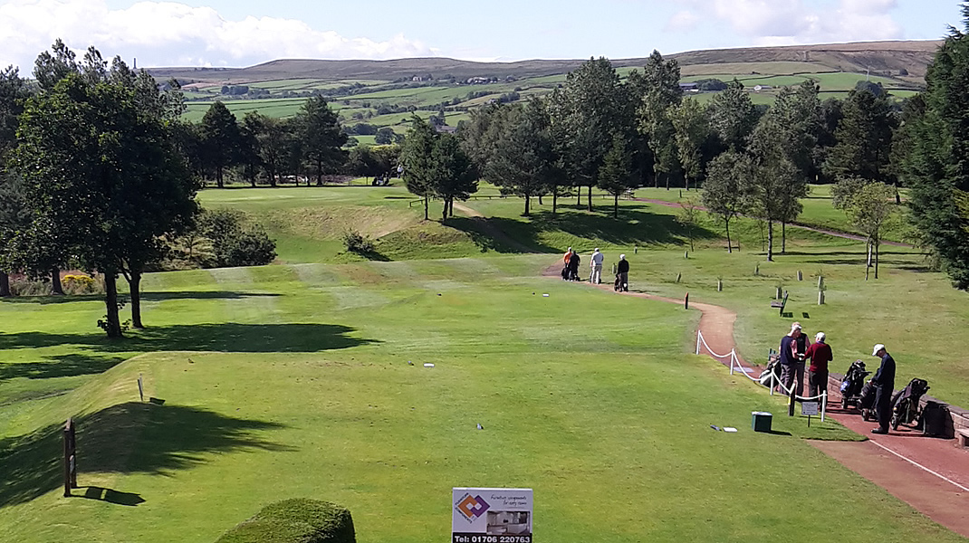 welcome to Rossendale golf